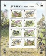 Jersey  2004  Yvertn° 1170-1173 *** MNH Cote 20 Euro Faune Flore Divers WWF Feuillet Complète - Jersey