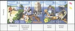 Pitcairn Islands 2001 Yvertn° 561 A-D  *** MNH Cote 11 Euro Art Artisanal - Stamps