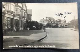 Tadworth Parade And Station - Surrey