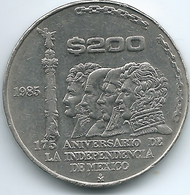 Mexico - 1985 - 200 Pesos - 175th Anniversary Of Independence - KM509 - Mexico