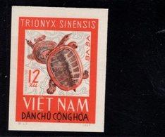 744499526 POSTFRIS  MINT NEVER HINGED EINWANDFREI SCOTT 415 REPTILES IMPERFORATED YEAR 1966 - Viêt-Nam