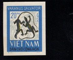 744499673 POSTFRIS  MINT NEVER HINGED EINWANDFREI SCOTT 417 REPTILES IMPERFORATED YEAR 1966 - Viêt-Nam