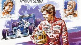 Guine-Bissau 2014  -  Formula 1 -  20e Anniversaire De La Disparition D'AYRTON SENNA  - 1v MS Neuf/Mint/MNH - Automobile