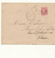 N°49 BORDEAUX SUR LETTRE - 1870 Emission De Bordeaux