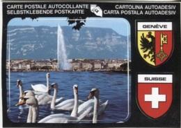 CPM - Carte AUTOCOLLANTE - BLASON - GENEVE - SUISSE - Edition Jaeger - Postcards