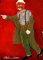 CPM - CIRQUE - CLOWN - Dessin Robert VAUTIER - TEDDY - Edition Yvon - Cirque