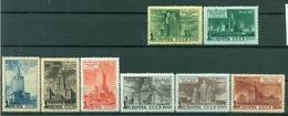 URSS 1950 - Y & T N. 1510/17 - Propagande Pour La Construction De Huit Gratte-ciel - Ungebraucht