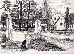 SCHOORBAKKE HOEVE OF KNUYDTWALLE (1176) SCHORE Ca21x30cm ©1981 G. Finaut ERFGOED MIDDELKERKE GESCHIEDENIS HEEMKUNDE R486 - Belgio