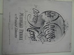 Rare Partition Ancienne GF La Vague Valse Olivier Metra L Denis Illustrateur Nicolas Ferri - Partitions Musicales Anciennes