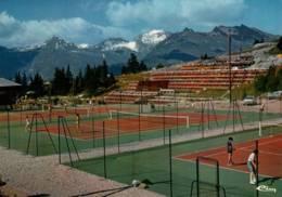 CPM - TENNIS - BOURG ST MAURICE - LES ARCS - Les Cours ... - Tennis