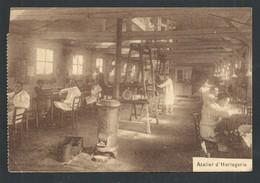 +++ CPA - WOLUWE ST PIERRE - Ecole De Rééducation Professionnelle Pour Soldats Invalides - Atelier Horlogerie    // - Woluwe-St-Pierre - St-Pieters-Woluwe