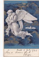 "TUCK ; 1903 ; The ""THORWALDSEN"" Series, Angel Holding Babies - Tuck, Raphael"