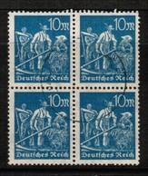 GERMANY  Scott # 222  VF USED BLOCK Of 4 (Stamp Scan # 478) - Germany