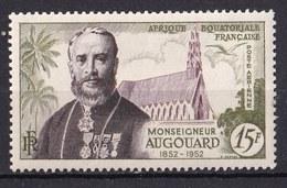 Colonies Française -  A.E.F.  - 1952 - Poste Aérienne Timbre Neuf ** N° YT 57 - Prix Fixe Cote 2015 à 20% - A.E.F. (1936-1958)