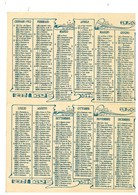 CALENDARIETTO CALENDARIO 1922 - Calendari