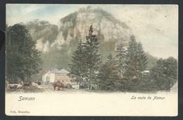 +++ CPA - SAMSON - La Route De Namur - Nels Couleur   // - Andenne