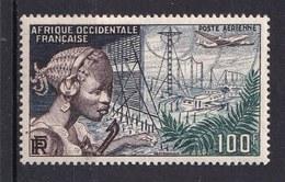 Colonies Française -  A.O.F.  - 1954 - Poste Aérienne Timbre Neuf * N° YT 19 - Prix Fixe Cote 2015 à 15% - A.O.F. (1934-1959)