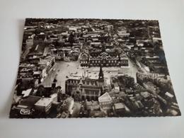 Ancienne Carte Postale Cpsm Cpm Roubaix Vue Génrale Aérienne La Grand' Place - Roubaix