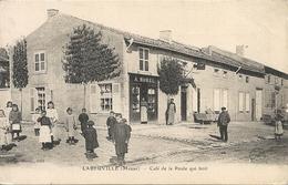 *LABEUVILLE. CAFE DE LA POULE QUI BOIT - France