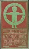 Liegnitz: Rosen-Ausstellung Reklamemarke - Cinderellas