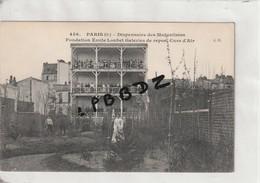 CPA - 75 - PARIS - 13e - Dispensaire Des Mutualistes - Fondation Emile Loubet - Galerie De Repos - Belle  Animation - District 13