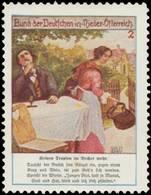 Wien: Keinen Tropfen Im Becher Mehr. Reklamemarke - Cinderellas
