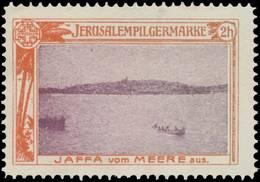 Wien: Jaffa Vom Meere Aus Reklamemarke - Erinnophilie