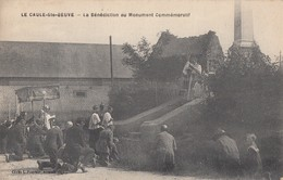 LE CAULE-Ste-BEUVE: La Bénédiction Au Monument Commémoratif - France