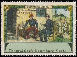 Naumburg: Napoleon Und Bismarck Am 2. September 1870 Reklamemarke - Cinderellas
