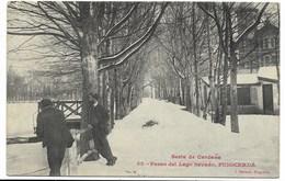 PUIGCERDA-Paseo Del Lago Nevado...1912  Animé - Spagna