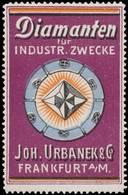 Frankfurt/M.: Diamanten Für Industriezwecke Reklamemarke - Cinderellas