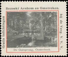 Arnhem: De Oorsprong Oosterbeek Reklamemarke - Cinderellas