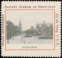 Arnhem: Velperplein Reklamemarke - Cinderellas