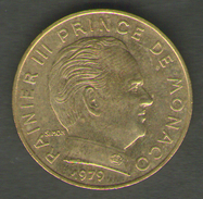 MONACO 20 CENTIMES 1979 - 1960-2001 Nouveaux Francs