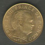 MONACO 20 CENTIMES 1975 - Monaco