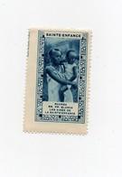 Erinnophilie Vignette Sainte Enfance Ruanda Rwanda RR. PP. Blancs Les Ainés De La Ste Enfance - Ruanda-Urundi