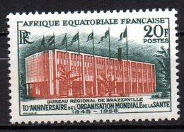 Col 13 / AEF Afrique Equatoriale N° 242  Neuf XX MNH  Cote : 2,00 € - Ungebraucht