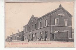 Carte  Monceau Sur Sambre  Gare - Belgique