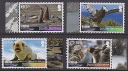 Falkland Islands South Georgia 2011 BBC Frozen Planet *** MNH Faune Seals Oiseaux Vogels Birds - Falkland