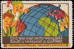 Radeberg: In Aller Welt Reklamemarke - Cinderellas