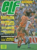 ELF INTERNATIONALE VOETBALMAGAZINE 8e JAARGANG N° 5 1989 ( MET SUPERPOSTER MARCO VAN BASTEN ) - Sports