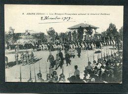 CPA - ADANA (Cilicie) - Les Troupes Françaises Saluant Le Général Duffieux, Très Animé - Guerre 1914-18