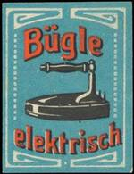 Bügle Elektrisch Reklamemarke - Erinnophilie