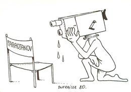 Carte Illustration   Signée   Dufraisse 80  -  Paradjanov           AH1195 - Illustrators & Photographers