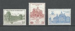 Belgique: CF 366/ 368 ** - 1952-....