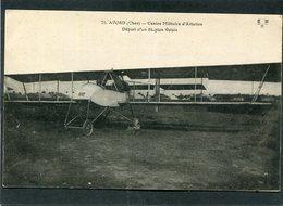 CPA - AVORD - Centre Militaire D'Aviation - Départ D'un Piblan Voisin - ....-1914: Précurseurs
