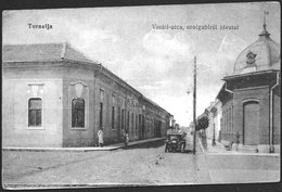 Slovakia / Hungary: Tornalja (Tornala / Šafárikovo), Railroad Street And Judicial Office - Slovaquie