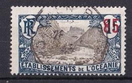 Colonies Française -  OCÉANIE  - 1937 - Timbre ʘ - Oblitéré N° YT 59 - Prix Fixe Cote 2015 à 15% - Oblitérés