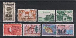 VIETNAM  DEL  SUD:  1943/   VARI  -  8  VAL. US. - Vietnam