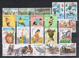 LAOS:  1991/2007   VARI  -   LOTTICINO  20  VAL. US. - Laos